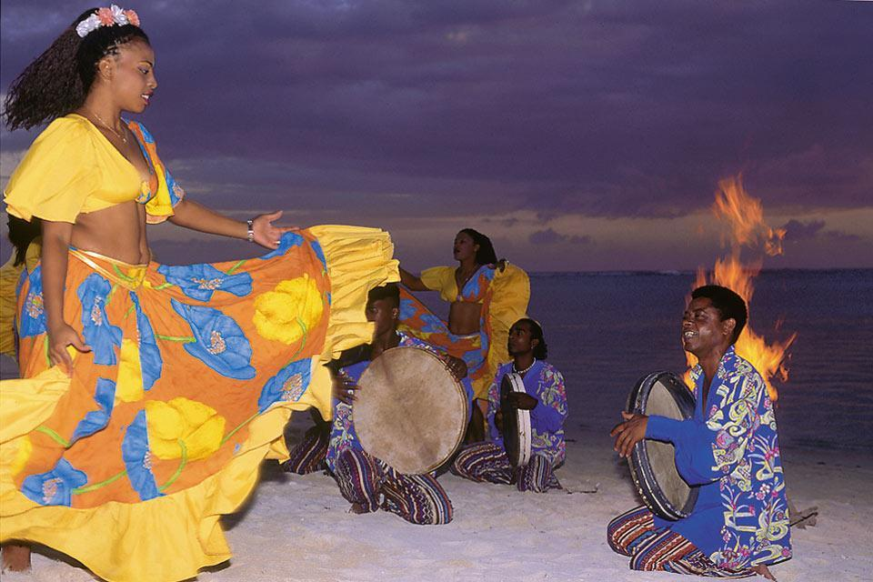 Sega dancing , Sega couples, Mauritius , Mauritius