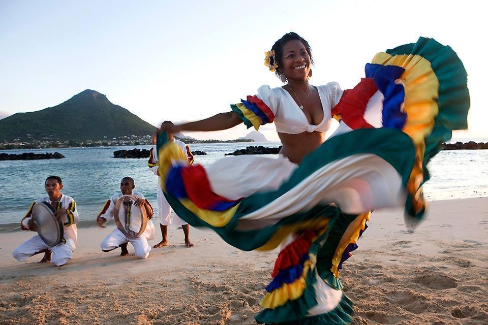 Sega dancing , Sega music and dancing, Mauritius , Mauritius