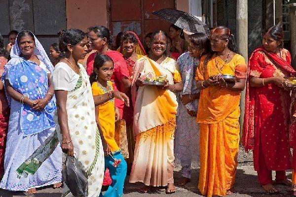 La cultura hindú , Isla Mauricio