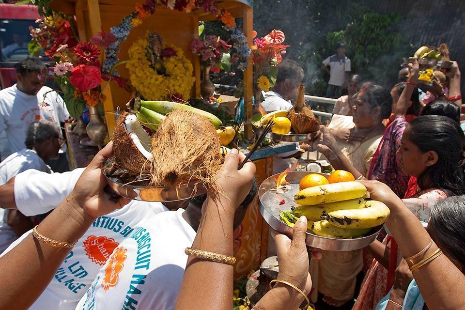 Hindu culture , Puja, Hinduism, Mauritius , Mauritius