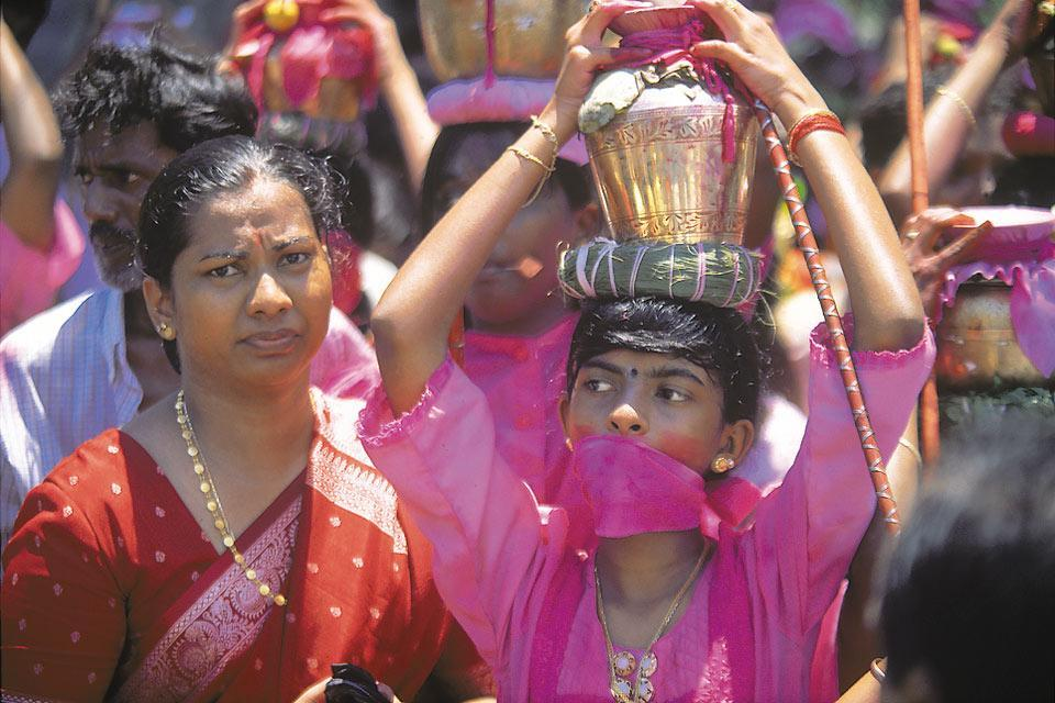 Hindu culture , The origins of Hinduism in Mauritius. , Mauritius