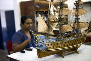 Model ships, Mauritius, The ship models, Arts and culture, Mauritius