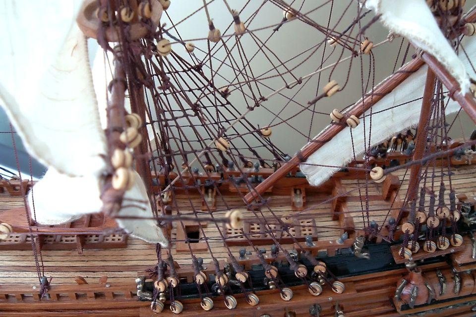 Historic ship models, Mauritius, The ship models, Arts and culture, Mauritius