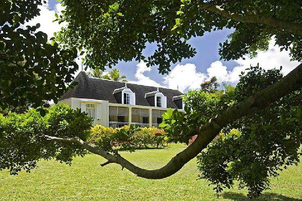 Las casas coloniales , La finca de Eureka , Isla Mauricio