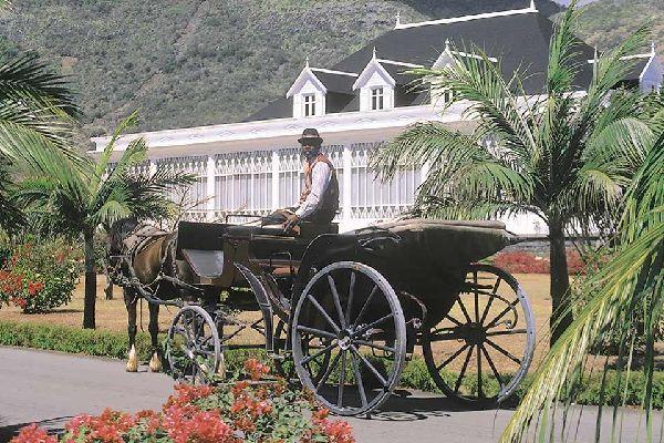 Las casas coloniales , Eureka, cerca de Port-Louis , Isla Mauricio