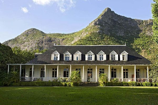 Las casas coloniales , Isla Mauricio