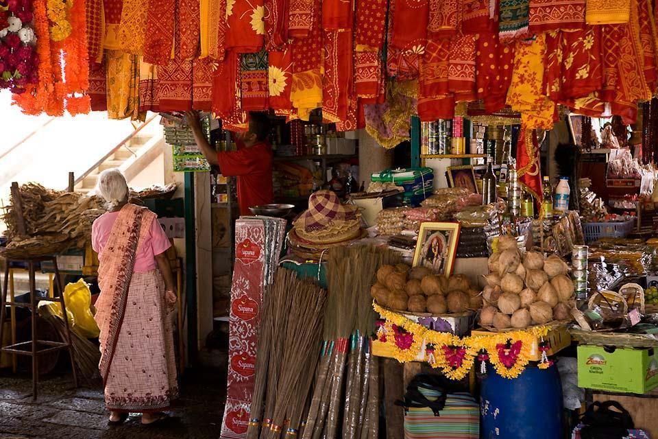 I mercati , Il mercato centrale di Port-Louis , Isola Mauritius