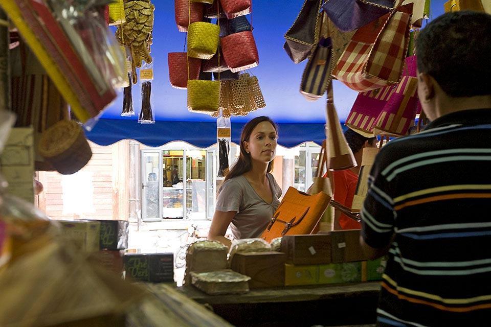 I mercati , Il mercato di Quatre Bornes , Isola Mauritius