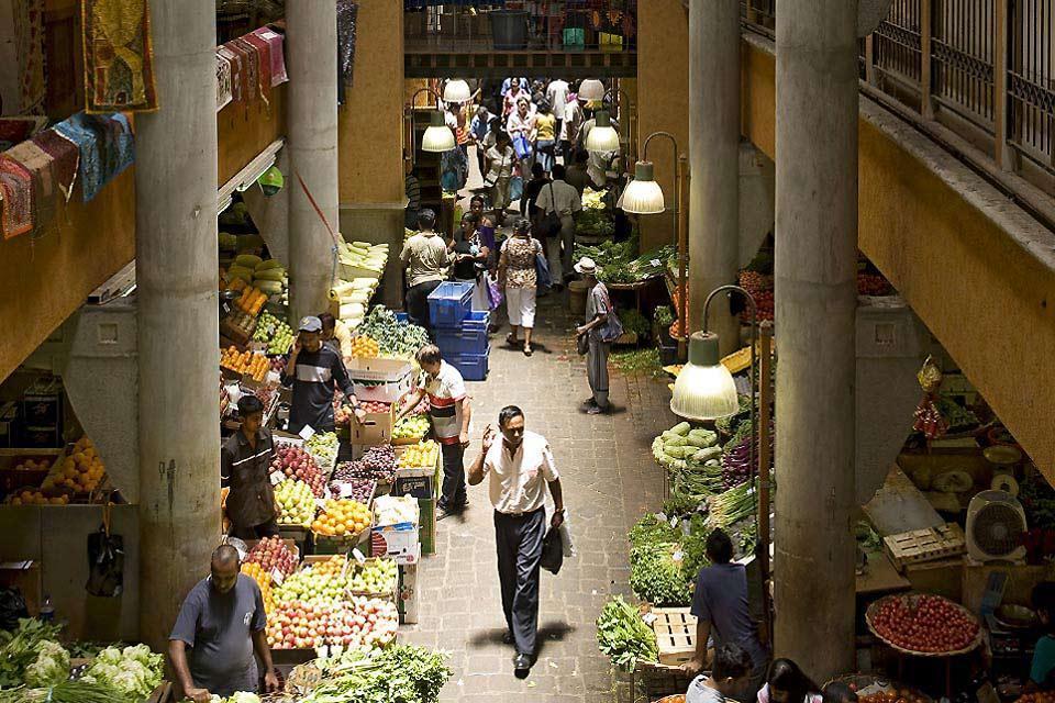I mercati , Isola Mauritius