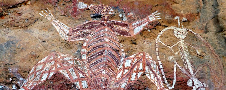 Aboriginal drawings