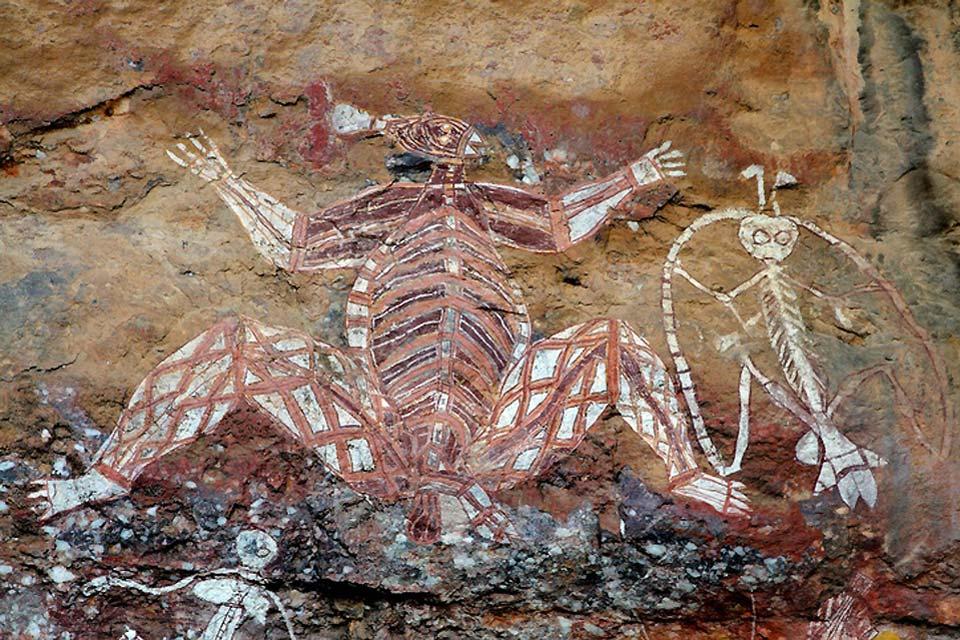 Les aborigènes , Dessins aborigènes , Australie