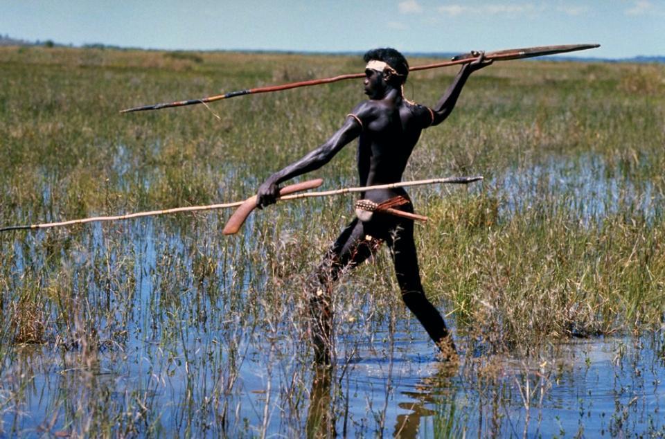 The Aborigines , Aboriginal hunting , Australia