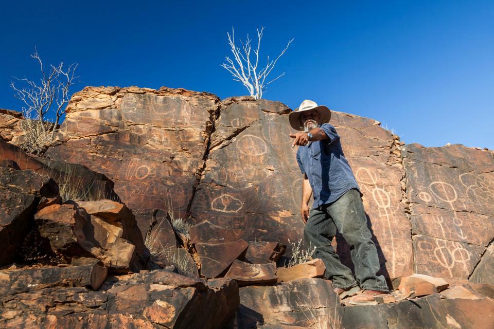 Les aborigènes , Les aborigènes Tjapukai , Australie