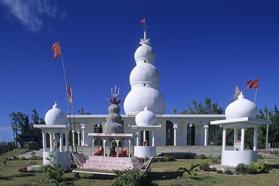 The Tamil temples , Grand Bassin, Mauritius , Mauritius