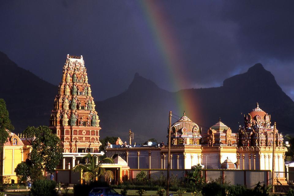 Los templos tamiles , El lago de Grand Bassin , Isla Mauricio