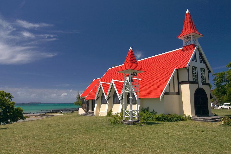 Cape Malheureux church , Small colonial chruches, Mauritius , Mauritius