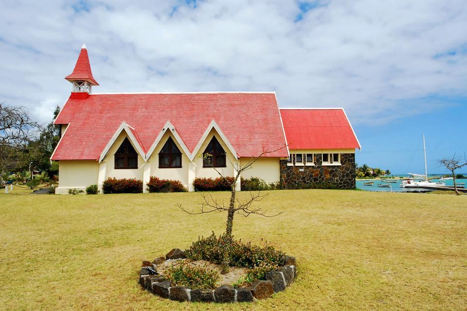 Cape Malheureux church , Colonial architecture, Mauritius , Mauritius