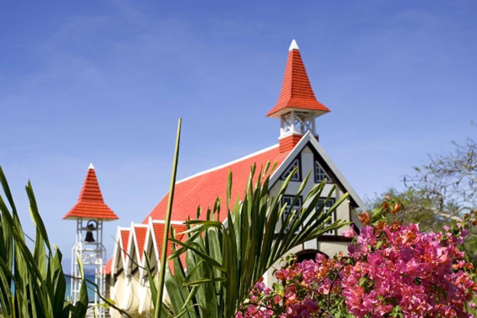 Cape Malheureux church , The arrival of the British, Mauritius , Mauritius
