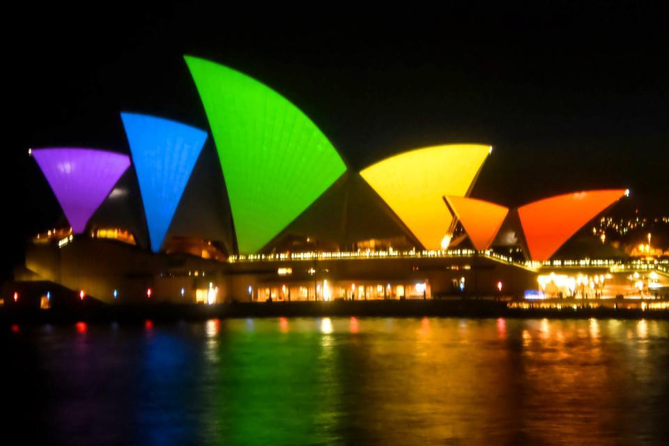 Les arts contemporains , L'Opéra de Sydney , Australie