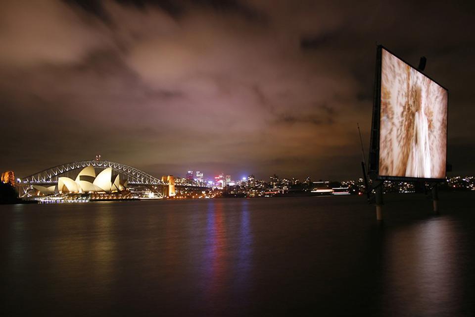 Les arts contemporains , Le cinéma en plein air à Sydney , Australie