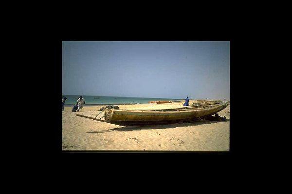 Der Nationalpark Banc d'Arguin , Mauretanien
