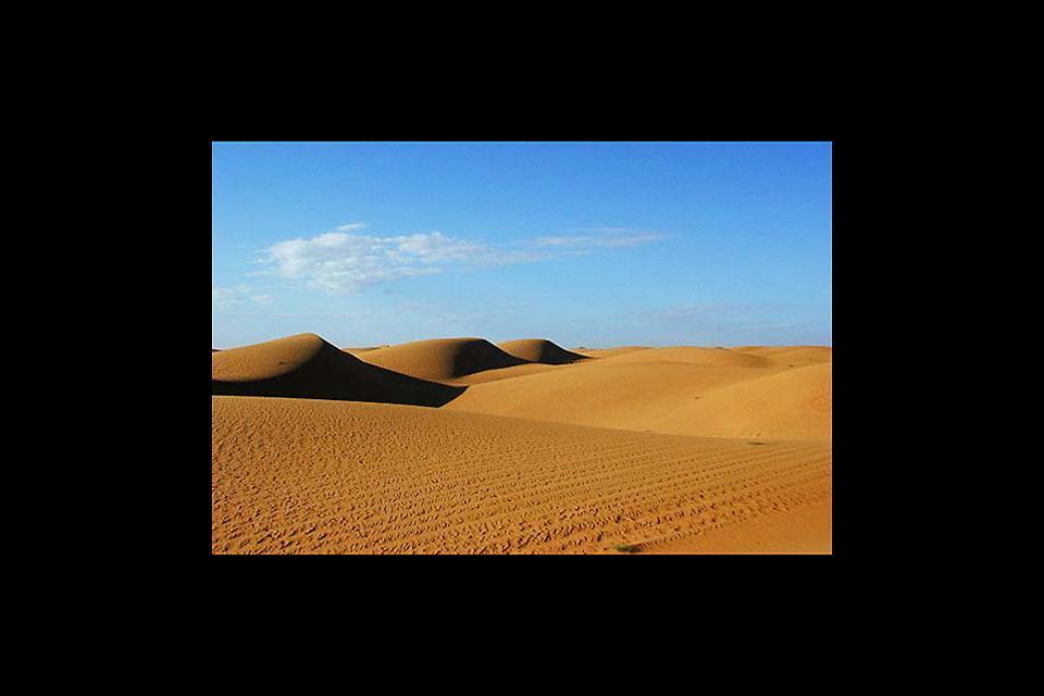 Die Wüste , Erg Ouarâne, Mauretanien , Mauretanien
