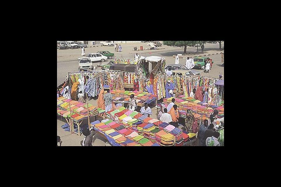 La artesanía , Nuakchot, Mauritania , Mauritania