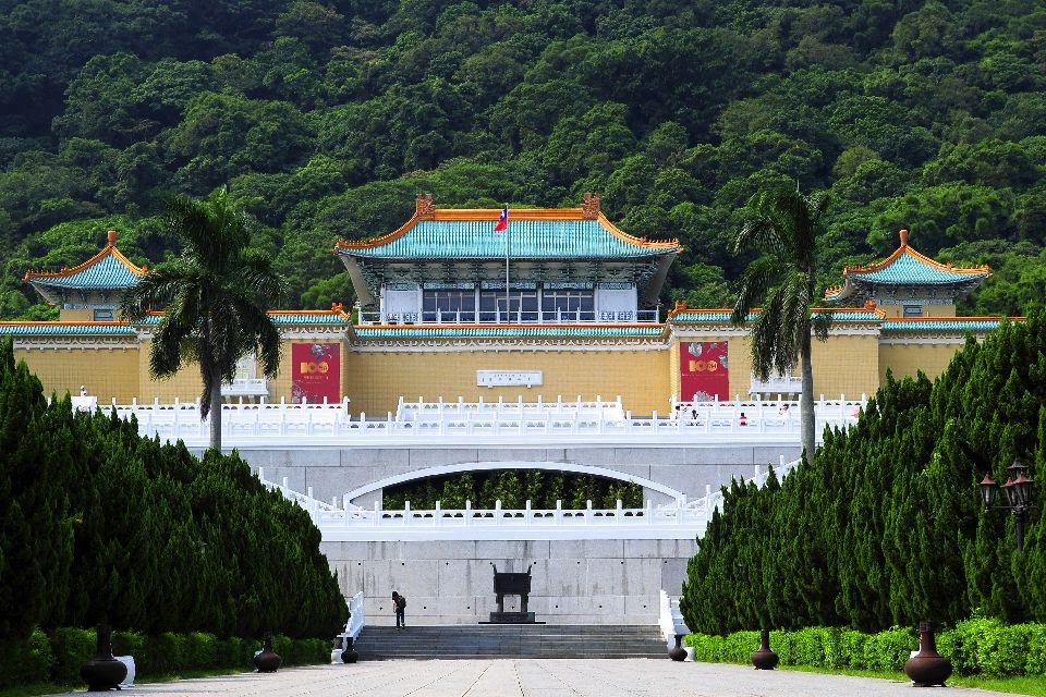 El museo Nacional del Palacio , Taiwán