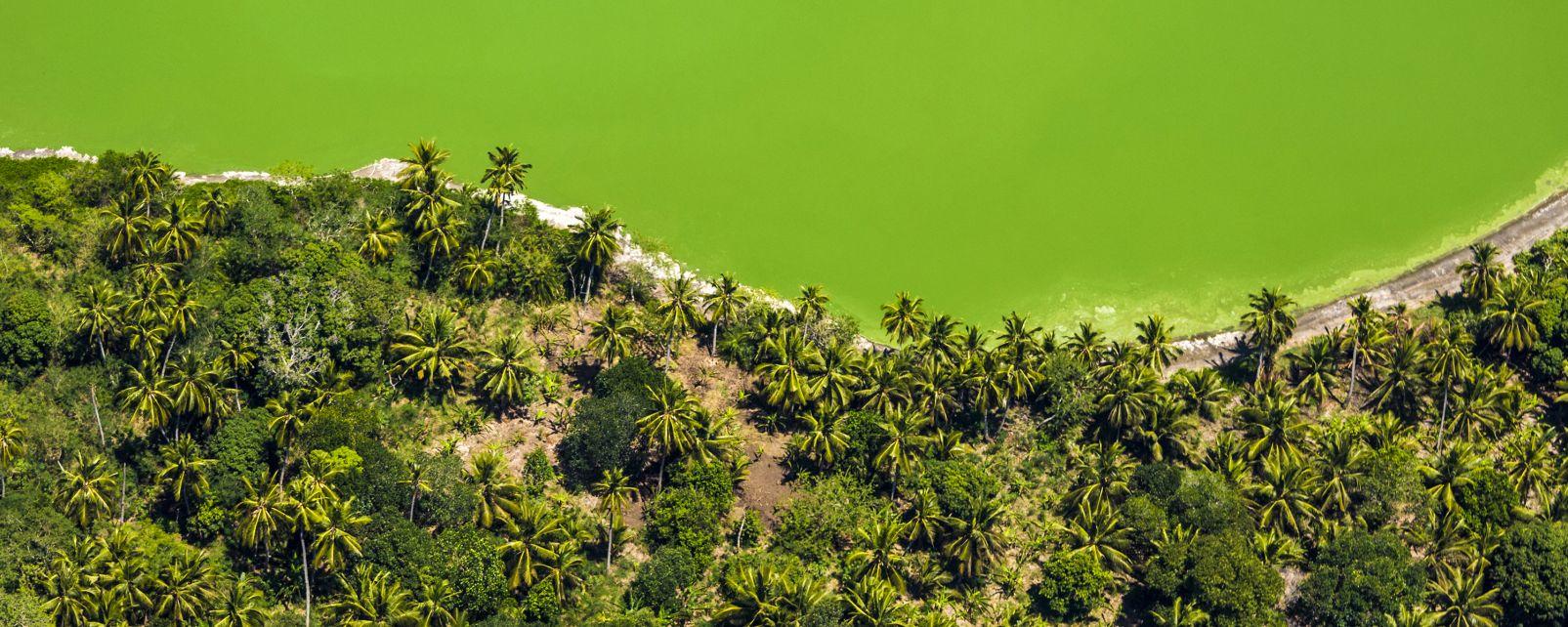 Petite Terre - Der Dziani-See, Die Landschaften, Mayotte