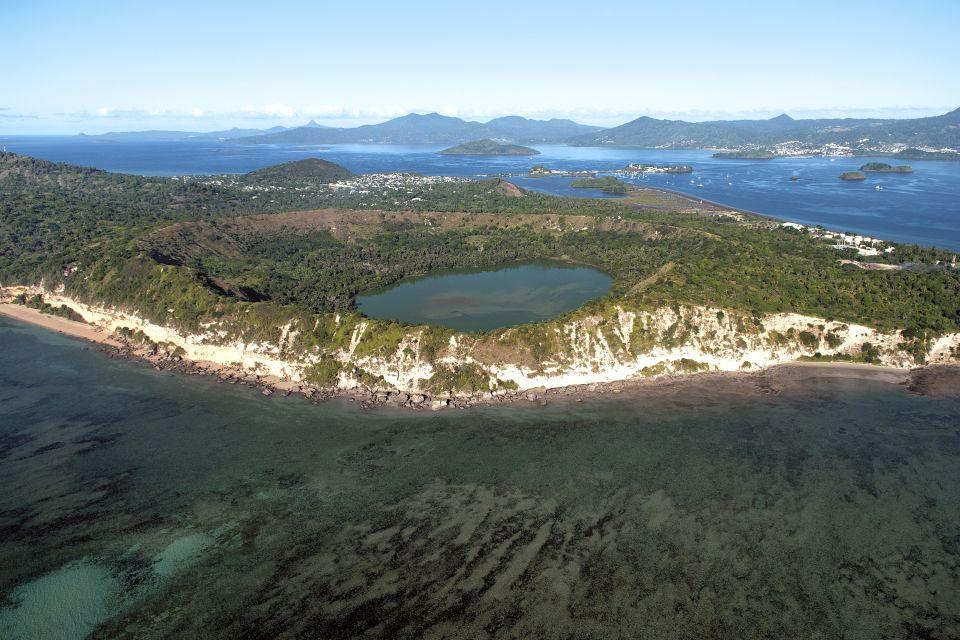 Les paysages, dziani, mayotte, afrique, mozambique, océan indien, lac, cratère, volcan