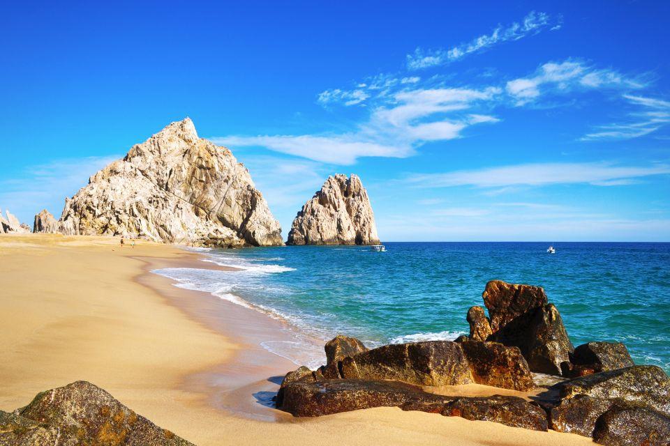 Al riparo dal sole, Bassa California, Deserto, montagne rocciose e spiagge di sabbia bianca., I paesaggi, Messico Bassa California