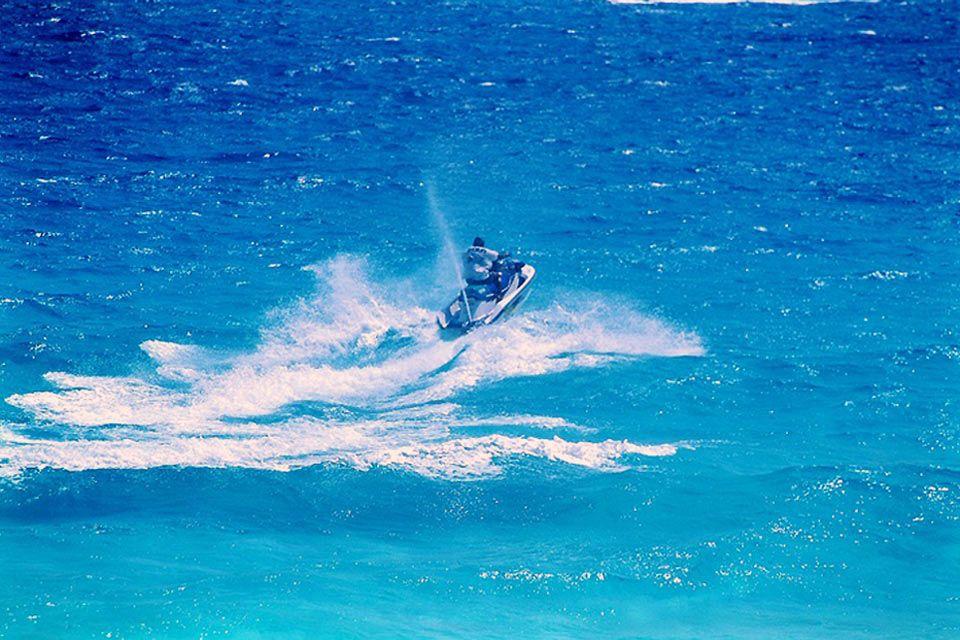 La moto d'acqua, Bassa California, Le attività nautiche, Le attività e i divertimenti, Messico Bassa California