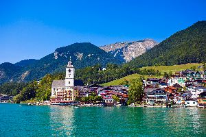Il Salzkammergut (la terra dei laghi) , Austria