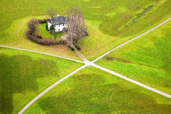 Das Salzkammergut , Ein grünes Fleckchen , Österreich