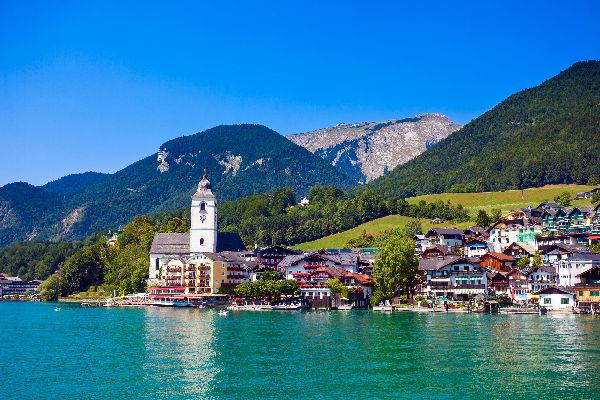 El Salzkammergut , Austria