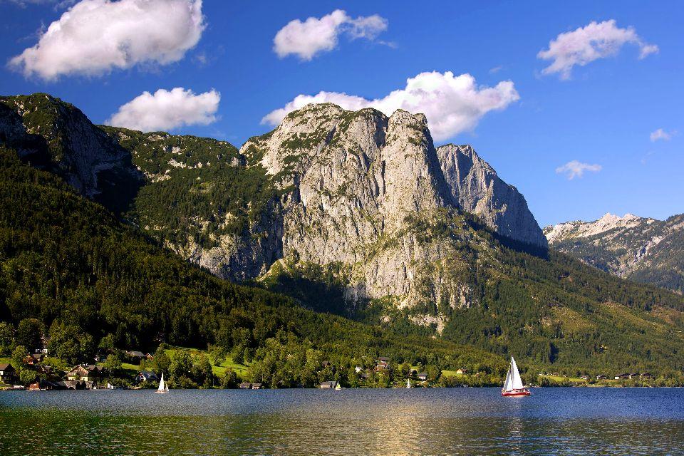 Le Salzkammergut , Les lacs du Salzkammergut , Autriche