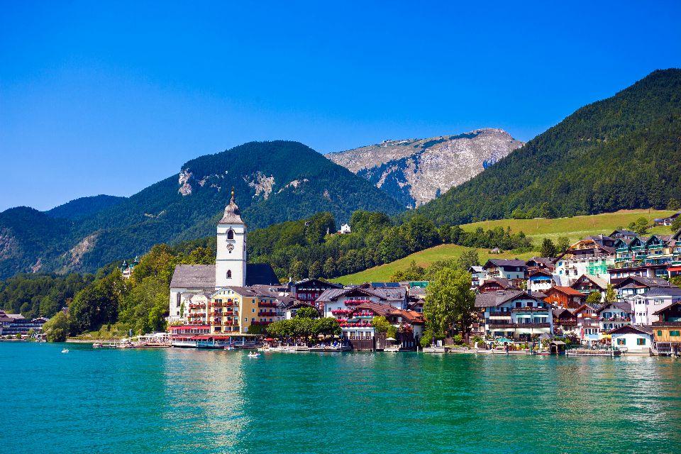 Le Salzkammergut , Autriche