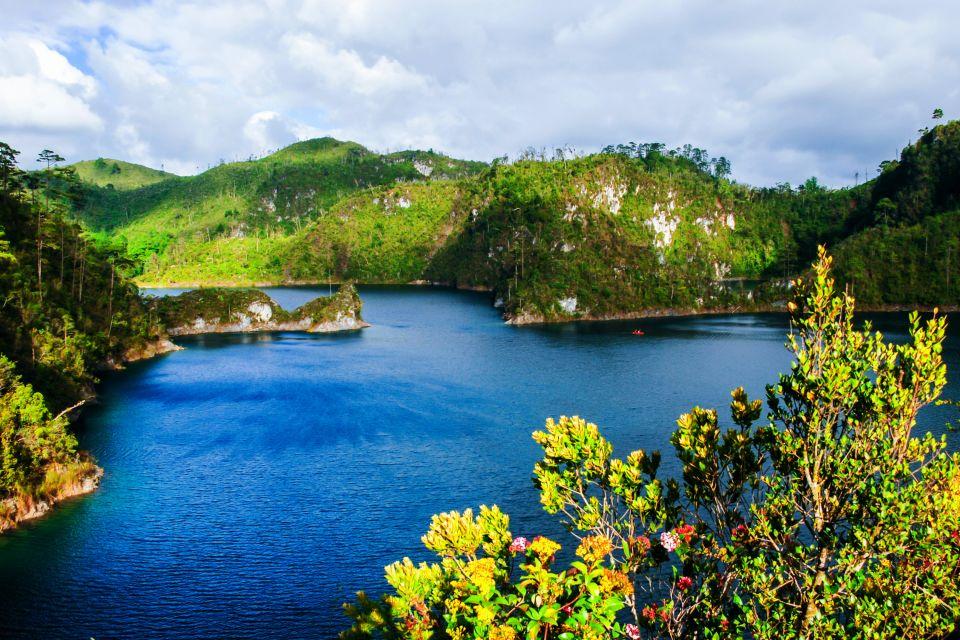 Laguna di Montebello, I paesaggi, Messico Continentale