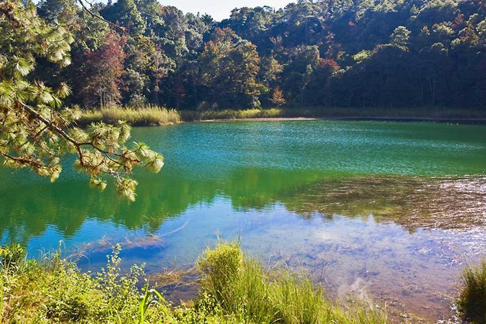 Laguna di Montebello , I laghi di Montebello , Messico