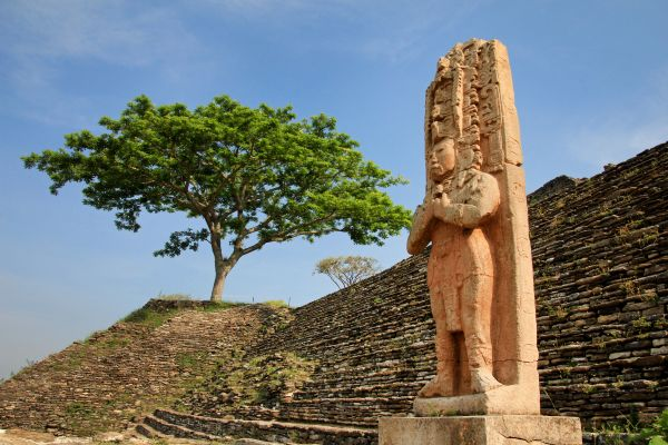 The mountains of Chiapas, The Chiapas mountains, Landscapes, Continental Mexico