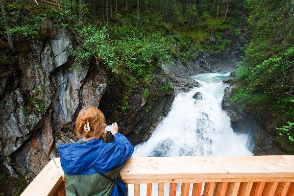 The Krimml waterfalls , A true force of nature , Austria