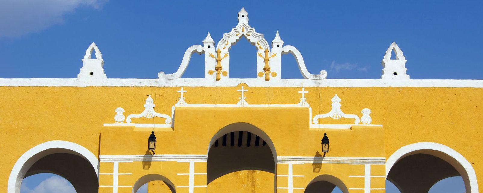 Un patio típico., Las herencias históricas, Arte y cultura, México continental