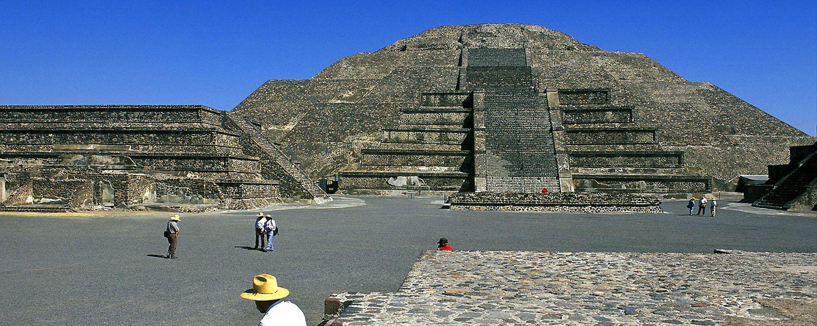 Les sites, Amérique, Mexique, archéologie, pyramide, TEOTIHUACAN, lune, degrés