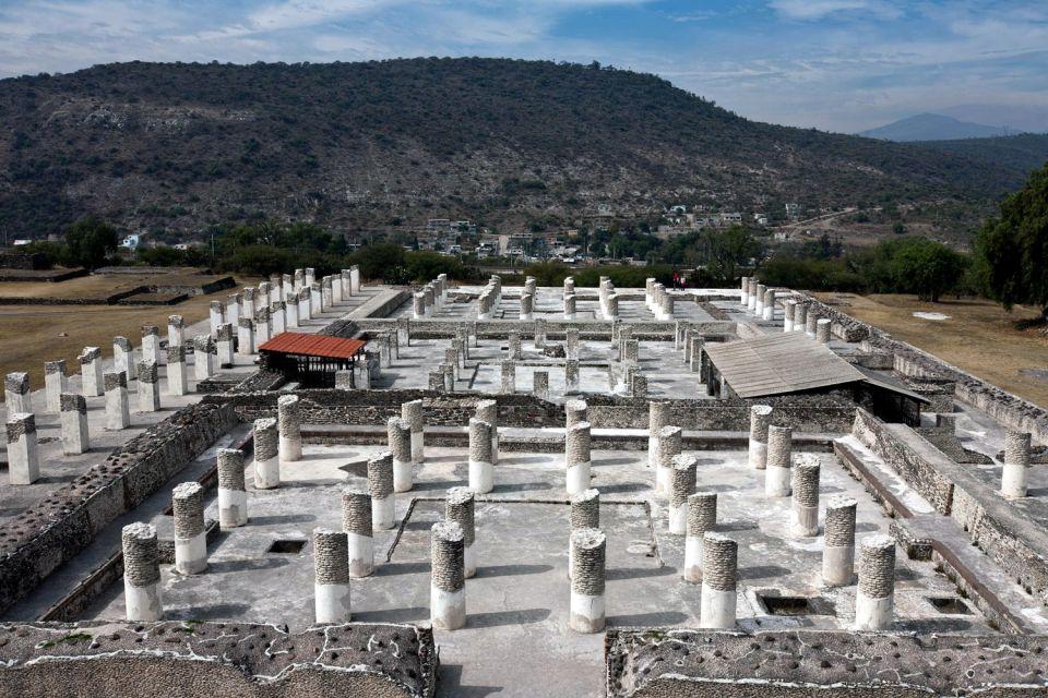 , Tula, I siti, Messico Continentale