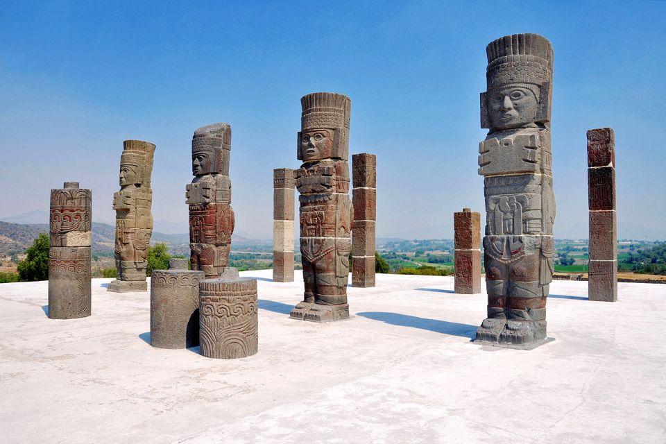 Tula, I siti, Messico Continentale