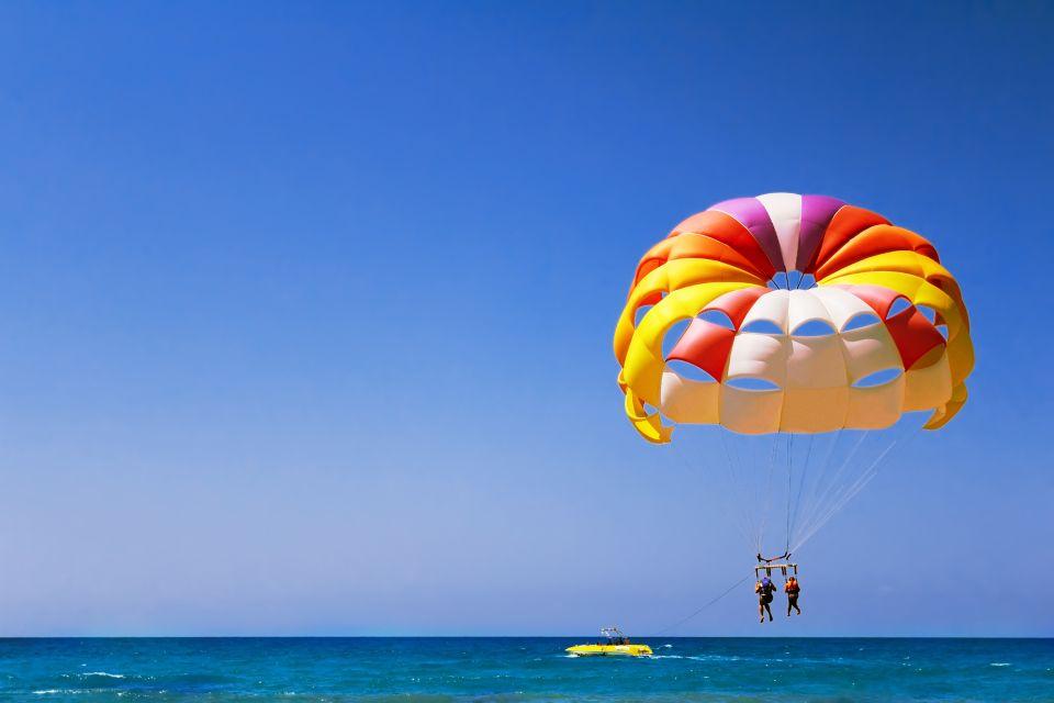 Les activités et les loisirs, Parachute, ascentionnel, sport, nautique, ciel, océan, mexique, amérique
