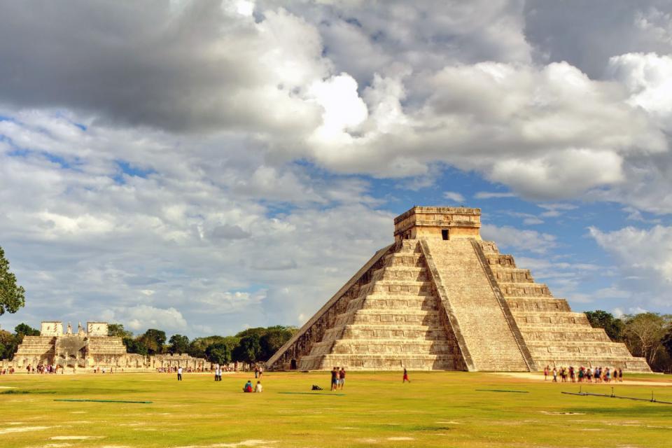 I siti archeologici di Chichen Itzá , Chichen Itza , Messico