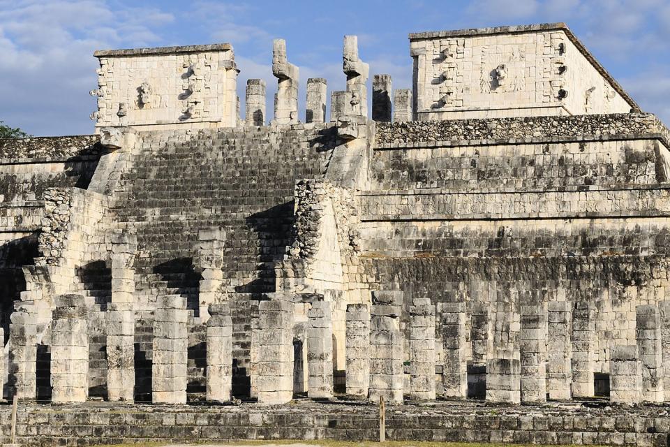 I siti archeologici di Chichen Itzá , Chichen Itza, Yucatan , Messico