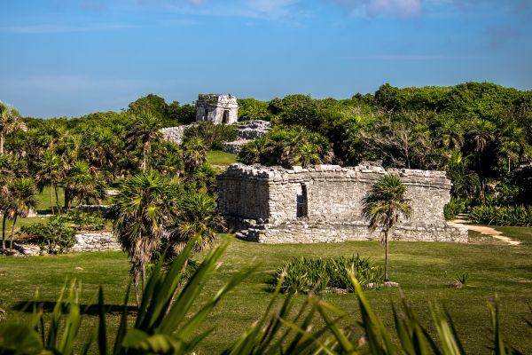 El Castillo, Tulum, Tulum ed i suoi monumenti, I siti, Tulum, Messico Yucatán