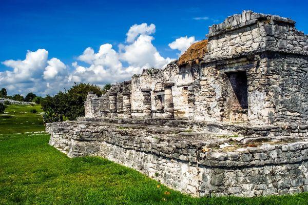 Tulum al calar del Sole, Tulum ed i suoi monumenti, I siti, Tulum, Messico Yucatán
